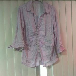 NY and co button down shirt